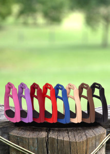 SmartRider Escape stirrups come in a great range of colours and 3 sizes.