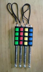 Slick Stick colours are bright.