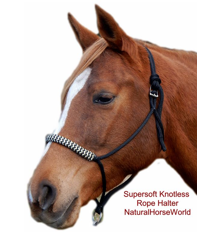 Supersoft Knotless Rope Halter